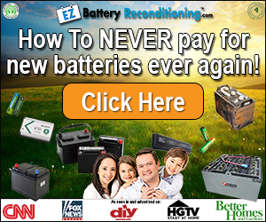 Green Products - Conservation & Efficiency - Battery Reconditioning